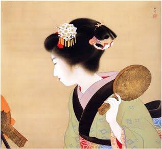 Pettinature tradizionali giapponesi di tsuki arte in for Disegni tradizionali giapponesi