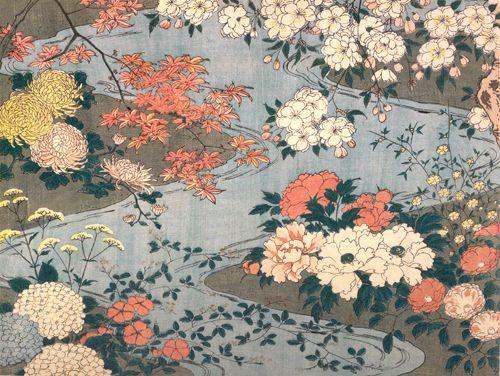Fiori 4 Stagioni.Fiori E Piante Delle Quattro Stagioni By Tsuki